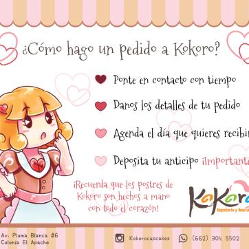 Kokoro - ¿Cómo hago un pedido?