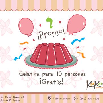 Kokoro - Gelatina Promoción